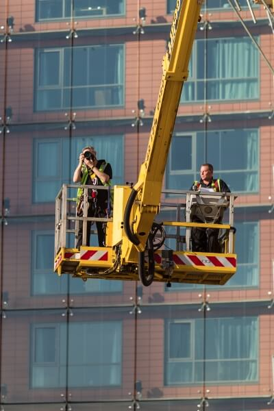 3-the-high-level-photographer-taking-view-photographs-from-a-cherry-picker-at-the-albert-embankment-london 11 Years Since New Beginnings