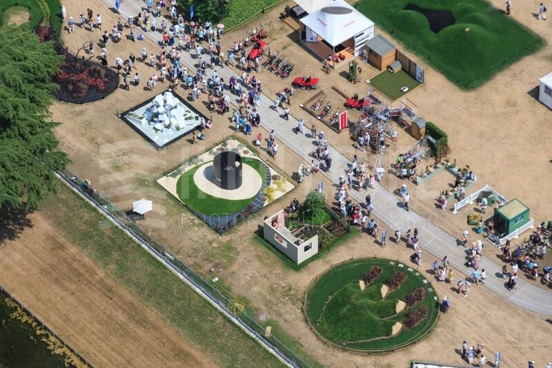 5-high-levels-aerial-photograph-of-exhibits-at-the-hampton-court-flower-show