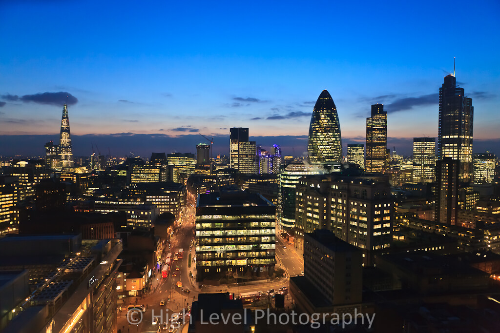 City-of-London-skyline-at-dusk