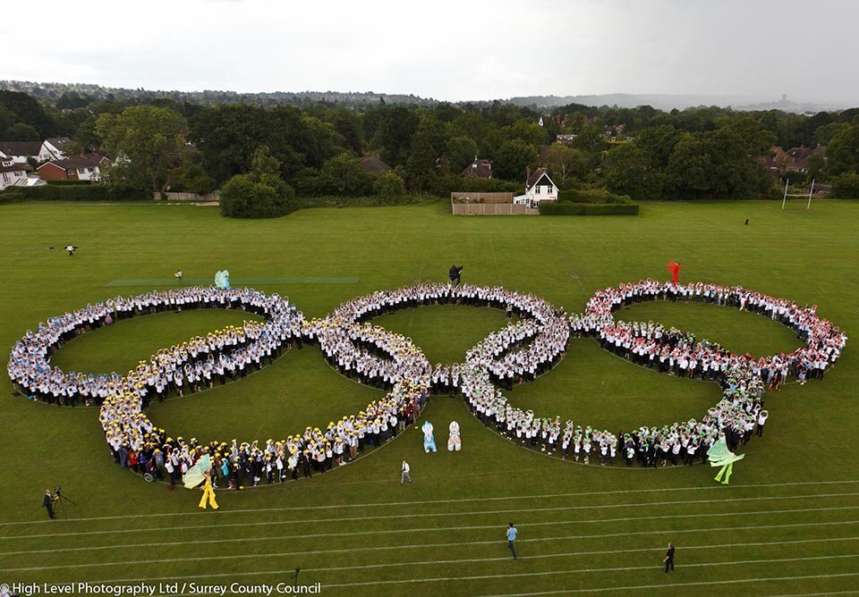 Human-Olympic-Rings-World-Record-High-Level-Photograph_960