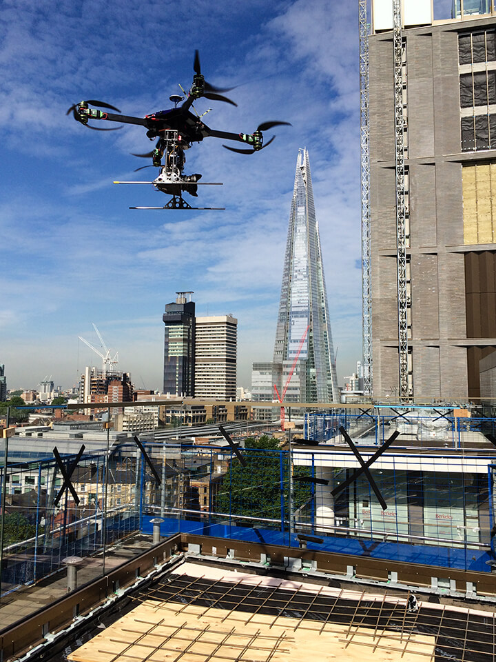 Drone Photography at Tower Bridge